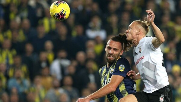 Fenerbahçe, Beşiktaş, derbi - Sputnik Türkiye