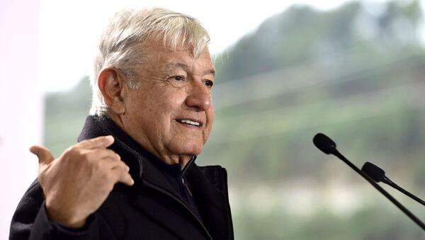 Meksika Devlet Başkanı Andres Manuel Lopez Obrador - Sputnik Türkiye