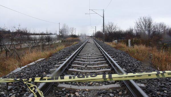 Raylarda ölü bulunan kadının üzerinden 10 yük treni geçmiş - Sputnik Türkiye
