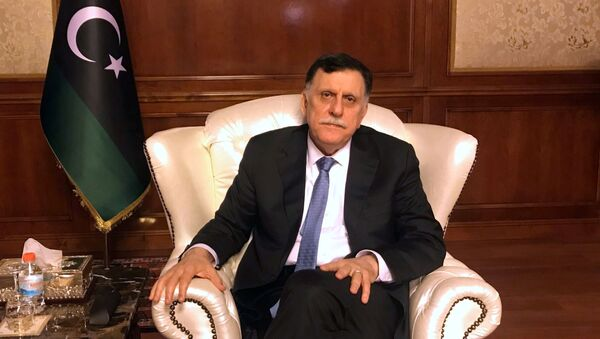 Ulusal Mutabakat Hükümeti (UMH) Başkanı Fayiz Serrac - Sputnik Türkiye