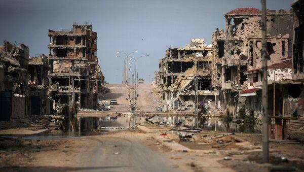 Libya kenti Sirte 22 Ekim 2011'de - Sputnik Türkiye