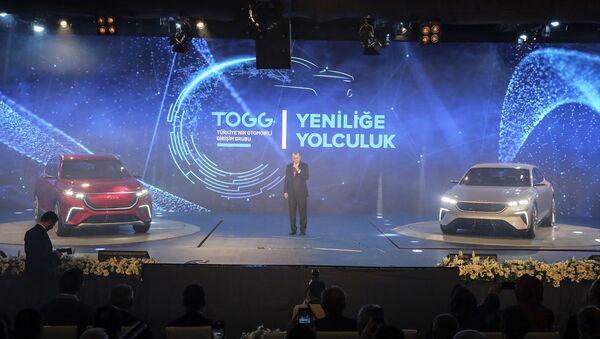 Yerli otomobil- Recep Tayyip Erdoğan - Sputnik Türkiye