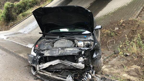 Mahir Ünal'ın makam aracı kaza yaptı: 4 yaralı - Sputnik Türkiye