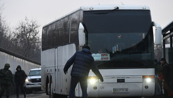 Ukrayna- Donbass mahkum takası - Sputnik Türkiye