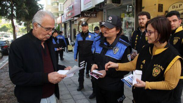 Adana'da erkeklere dağıtılan 'kadına şiddet' mektubu - Sputnik Türkiye