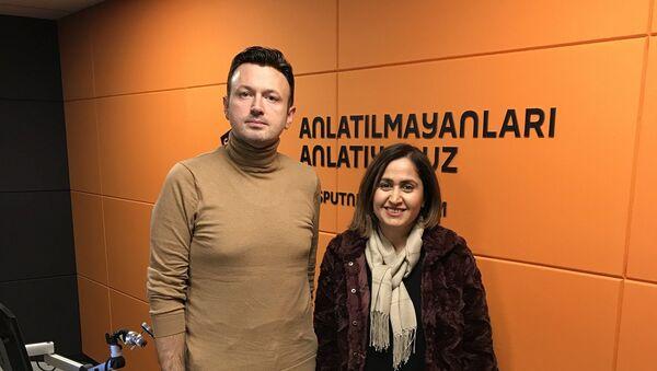 Serhat Sarısözen-Canan Duman - Sputnik Türkiye