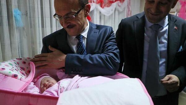 Ordu'da yılın ilk bebeğine Ceren Özdemir'in adı verildi - Sputnik Türkiye
