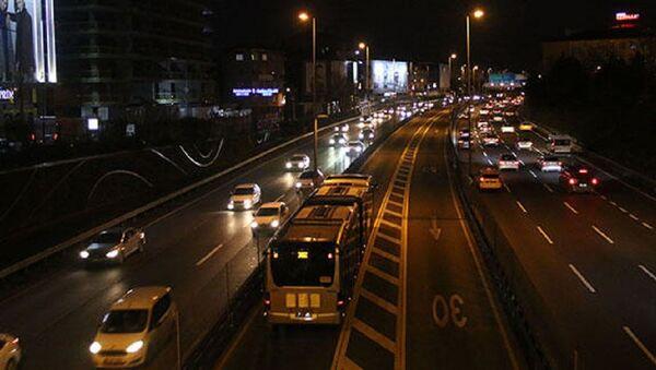 İstanbul'da boş yol - Sputnik Türkiye