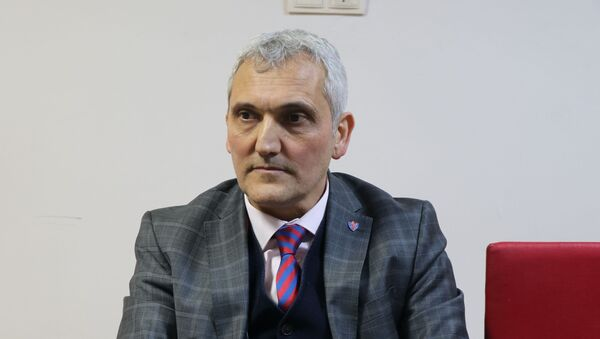 Kardemir Karabükspor Başkanı Mehmet Yüksel - Sputnik Türkiye