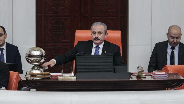 Meclis Başkanı Mustafa Şentop - Sputnik Türkiye