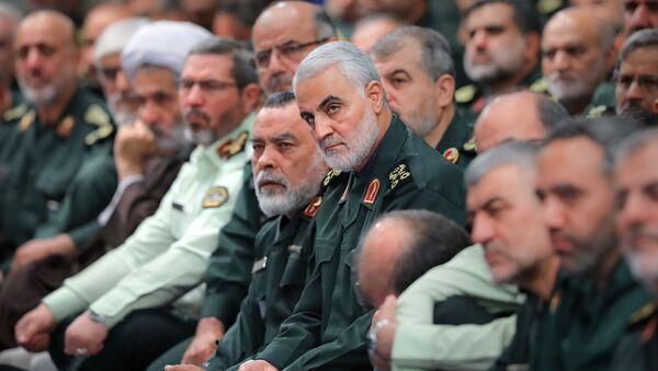 İran Devrim Muhafızları Ordusu Kudüs Gücü Komutanı Kasım Süleymani - Sputnik Türkiye