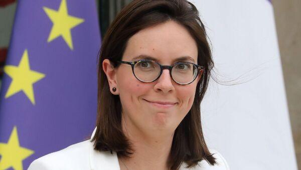 Fransa'nın Avrupa İşlerinden Sorumlu BakanıAmelie de Montchalin - Sputnik Türkiye