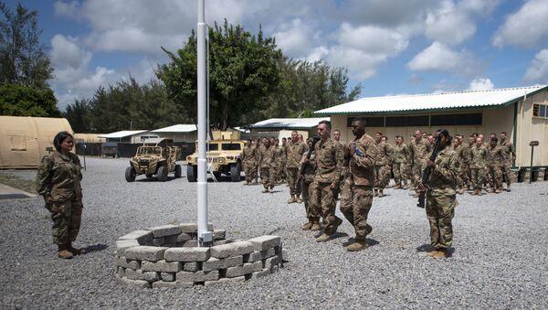 Kenya'nın Lamu bölgesindekiManda Körfezi'nde ABD askerlerinin de bulunduğu üs - Sputnik Türkiye