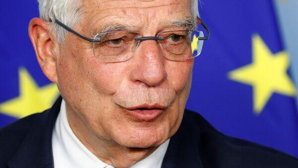 AB Dış İlişkiler ve Güvenlik Politikası Yüksek Temsilcisi Josep Borrell - Sputnik Türkiye