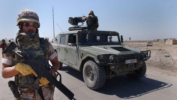 İspanya ordusu, Irak - Sputnik Türkiye