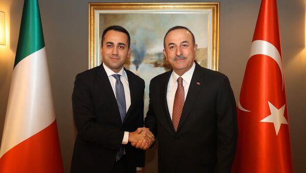 Çavuşoğlu, Di Maio - Sputnik Türkiye