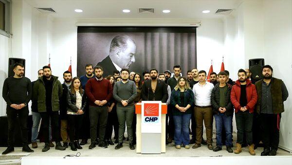 CHP Ankara İl Gençlik Kolları Başkanı Deniz Bozkurt  - Sputnik Türkiye