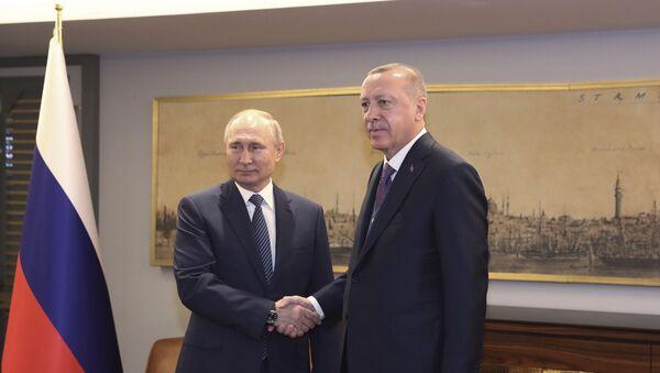 Putin - Erdoğan - Sputnik Türkiye