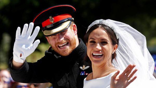 İngiltere Prensi Harry ve eşi Meghan Markle - Sputnik Türkiye