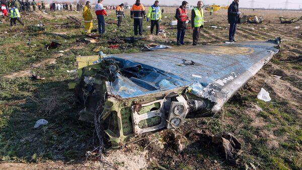Ukrayna Havayolları'na ait Boeing 737 tipi yolcu uçağı, Tahran İmam Humeyni Havalimanı'ndan Ukrayna'nın başkenti Kiev'e gitmek üzere havalandıktan kısa bir süre sonra düştü. - Sputnik Türkiye