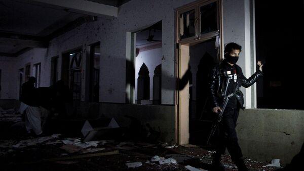 Pakistan'ın Belcucistan eyaleti başkenti Kuetta'da bir medrese içindeki mescitte yaşanan patlama - Sputnik Türkiye