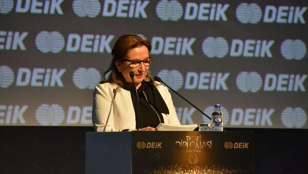 Ticaret Bakanı Ruhsar Pekcan DEİK Ticari Diplomasi Ödülleri'nde - Sputnik Türkiye