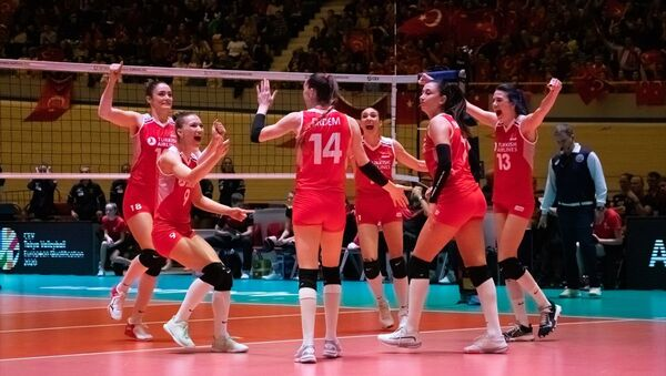 Türkiye A Milli Kadın Voleybol Takımı - Sputnik Türkiye