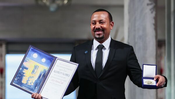 2019 yılı Nobel Barış Ödülü sahibi Etiyopya Başbakanı Abiy Ahmed Ali - Sputnik Türkiye