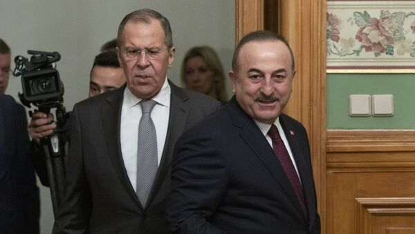 Çavuşoğlu - Lavrov - Sputnik Türkiye