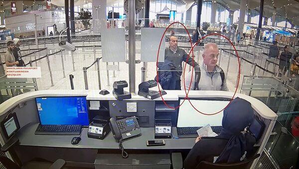 Eski Nissan CEO'su Carlos Ghosn'un kaçışına yardım ettiği öne sürülen iki kişinin görüntüleri ortaya çıktı - Sputnik Türkiye