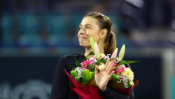 Dünyaca ünlü tenisçi Maria Şarapova - Sputnik Türkiye