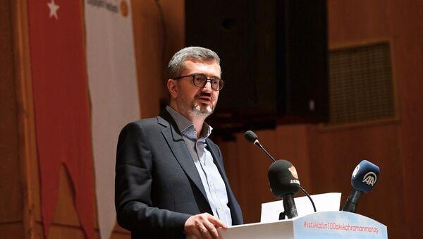 Siyaset, Ekonomi ve Toplum Araştırmaları Vakfı (SETA) Genel Koordinatörü Prof. Dr. Burhanettin Duran - Sputnik Türkiye