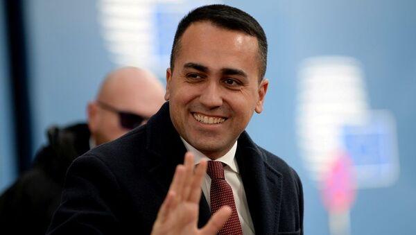 İtalya Dışişleri Bakanı Luigi Di Maio - Sputnik Türkiye