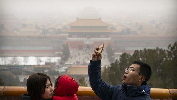 Pekin'de hava kirliliği - Sputnik Türkiye