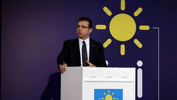 İstanbul Büyükşehir Belediye (İBB) Başkanı Ekrem İmamoğlu - Sputnik Türkiye