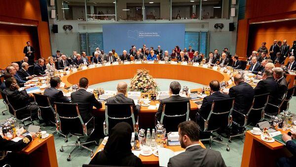 Berlin'de Libya Konferansı - Sputnik Türkiye
