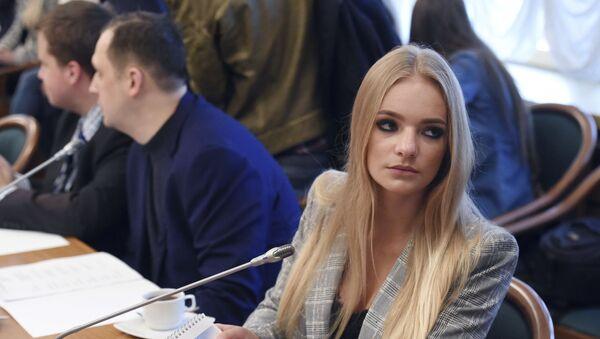 Dmitriy Peskov'un kızı Yelizaveta Peskova - Sputnik Türkiye