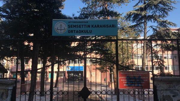 Şemsettin Karahisari Ortaokulu - Sputnik Türkiye