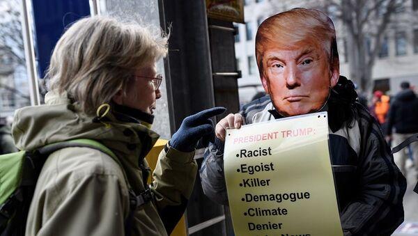 Davos protesto gösterileri - Sputnik Türkiye
