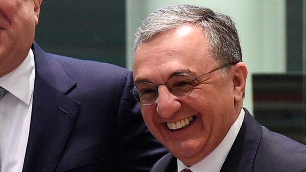 Ermenistan Dışişleri Bakanı Zograb Mnatsakanyan - Sputnik Türkiye