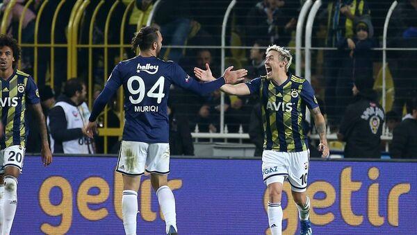 Fenerbahçe, Süper Lig'in 19. hafta maçında Medipol Başakşehir ile Ülker Stadı'nda karşılaştı - Sputnik Türkiye
