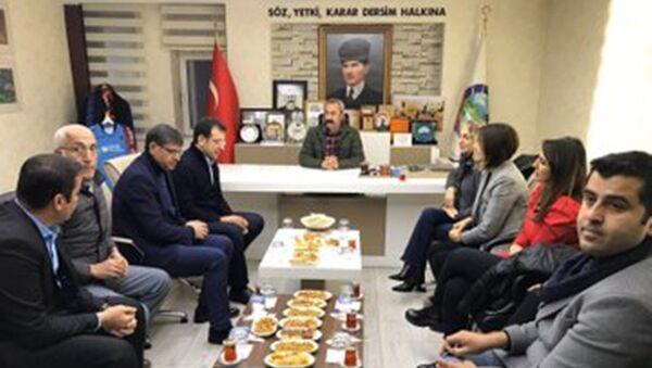 Ekrem İmamoğlu- Fatih Mehmet  Maçoğlu - Sputnik Türkiye