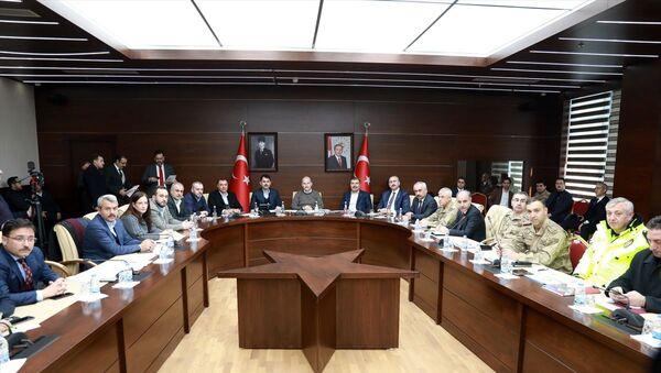 Süleyman Soylu, Abdulhamit Gül, Fahrettin Koca, Murat Kurum, - Sputnik Türkiye
