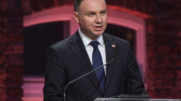 Polonya Cumhurbaşkanı Andrej Duda - Sputnik Türkiye