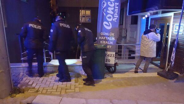 Komşular arasındaki çöp kutusu kavgası - Sputnik Türkiye