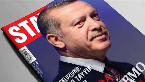 Cumhurbaşkanı Erdoğan Stav dergisi - Sputnik Türkiye