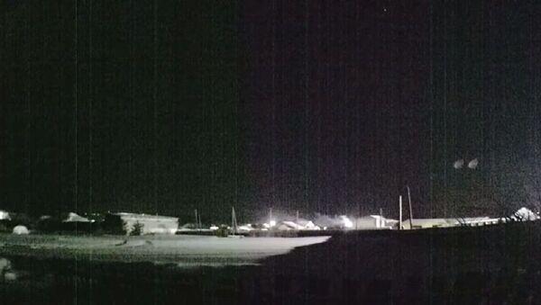 Rusya'da düşen meteor - Sputnik Türkiye
