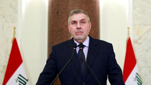 Irak'ta hükümeti kurmakla görevlendirilen Muhammed Tevfik Allavi - Sputnik Türkiye