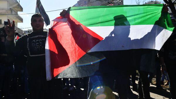 Beyrut'ta 'Yüzyılın Anlaşması' protestoları - Sputnik Türkiye