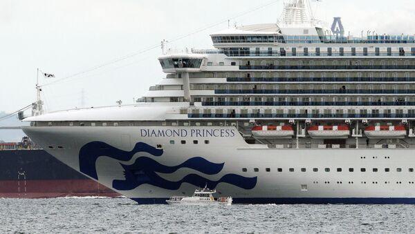 Japonya, 3711 kişiyi taşıyan bir cruise gemisini koronavirüs şüphesiyle karantinaya aldı. - Sputnik Türkiye